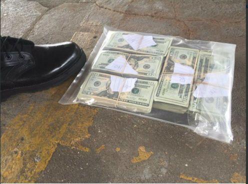 Se incautan $10,000 dólares a miembros de pandilla 18 en Tonacatepeque