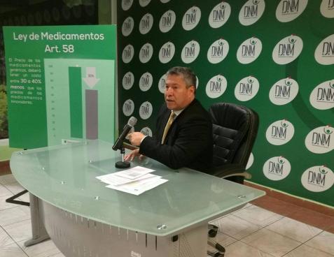 DNM anuncia nueva disminución en precios de ciertos medicamentos