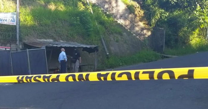 Dos hombres fueron asesinados cuando se dirigían a trabajar San Pedro Perulapán