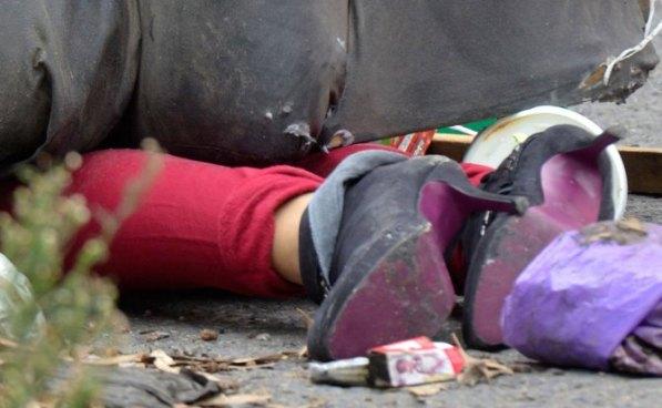 Doble escena de feminicidio en el cantón El Carmen, Cuscatlán
