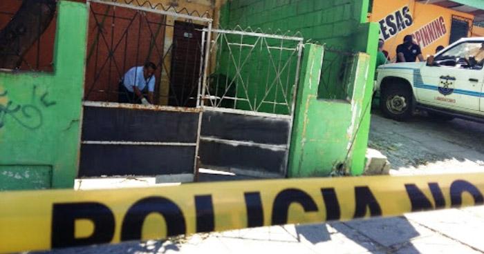 Asesinan a dos jóvenes en el patio de una vivienda en San Pedro Perulapán, Cuscatlán