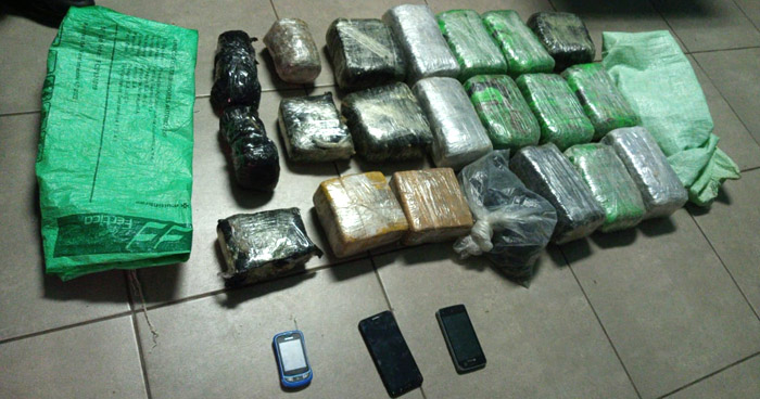 Incautan $20,000 en droga en San Sebastián Salitrillo, Santa Ana