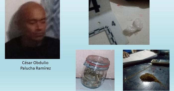 Capturan a traficante de droga en Mejicanos