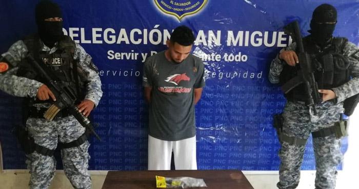 Traficaba drogas en colonia de San Miguel