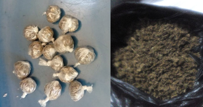 Incautan marihuana que sujetos pretendían comercializar en Sonsonate