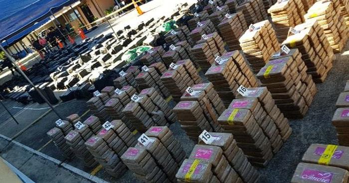 Droga en Buque de bajo perfil está valorada en más de $160 millones