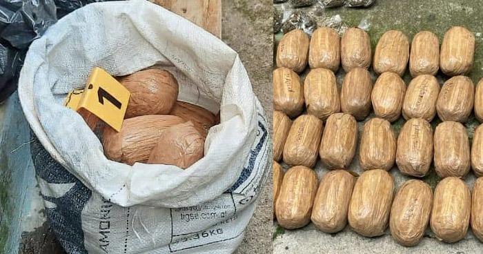 Incautan 40 paquetes de droga en comunidad Tutunichapa, de San Salvador