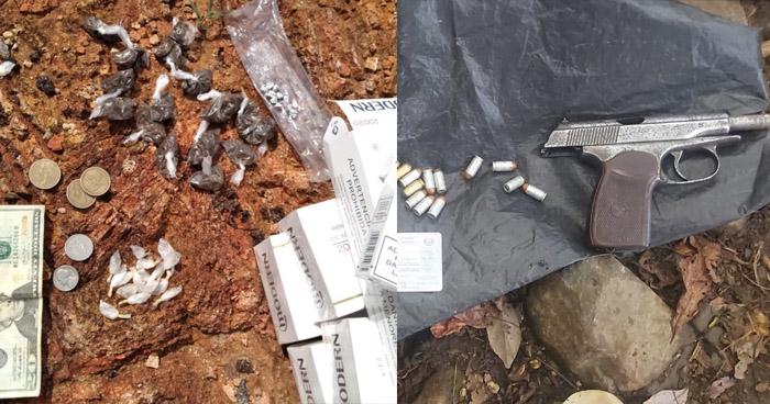 Capturado con más de 30 porciones de droga en Sensuntepeque, Cabañas