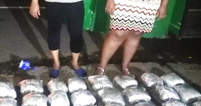 Mujeres transportaban más de $14 mil en droga en autobús de Ahuachapán