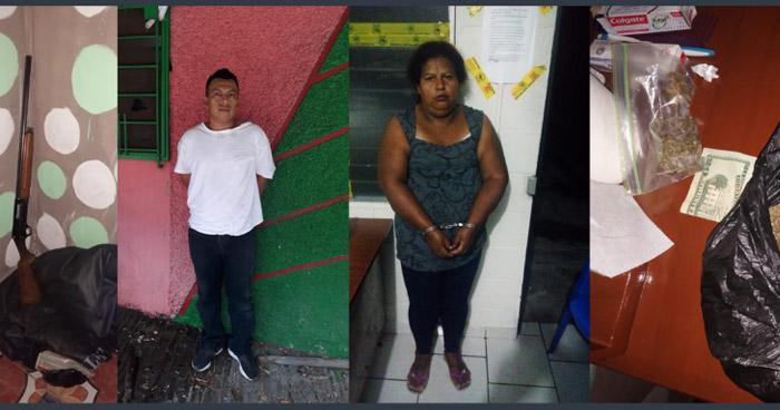 Capturan a cabecilla de la MS junto a su madre en San Salvador