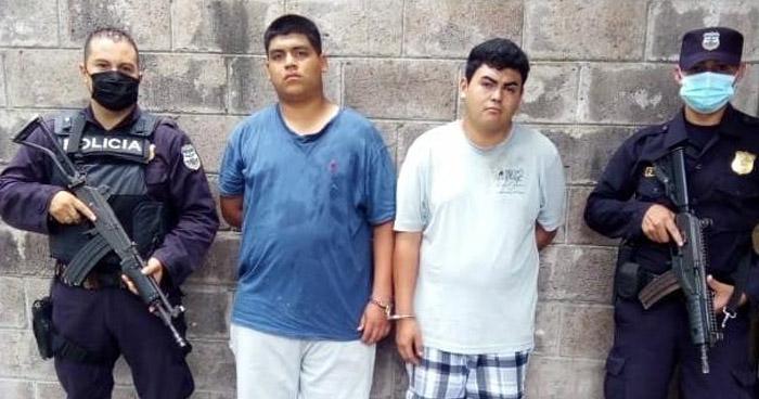 Capturados con droga en San Martín y Ahuachapán