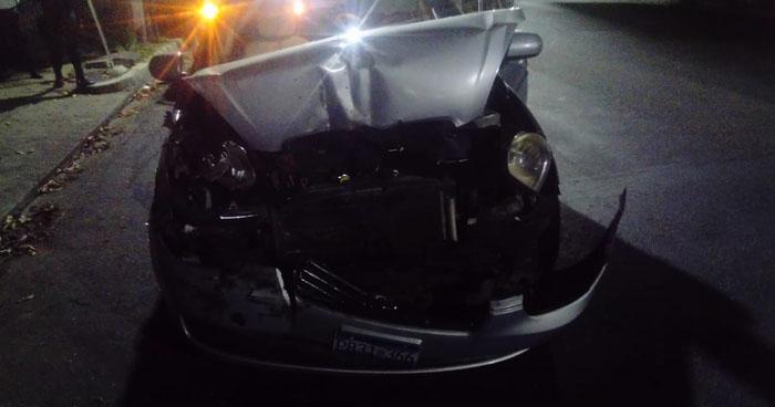 Taxista con más de 200 grados de alcohol fue detenido anoche en San Salvador