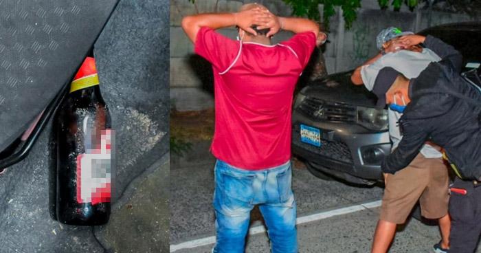 Detienen en control vehicular a hombres ebrios y violando cuarentena domiciliar