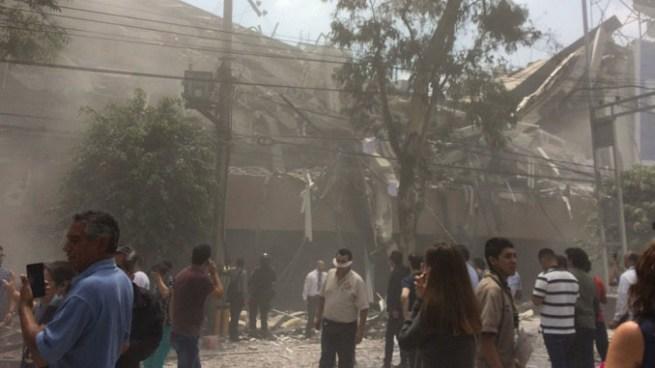 Fuerte terremoto de 7.1 sacude nuevamente a México