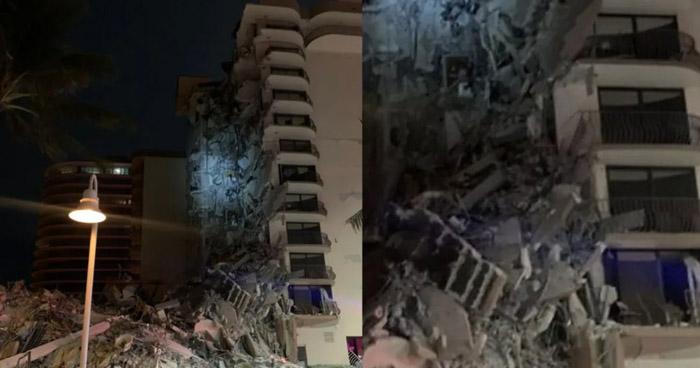 Un muerto y 10 heridos tras colapso de un edificio en Florida