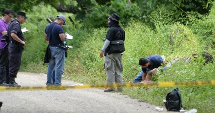Joven fue asesinado a machetazos en un predio de El Paisnal, San Salvador