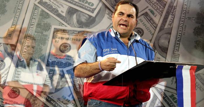 Expresidente Elias Antonio Saca deberá devolver al estado $260 millones