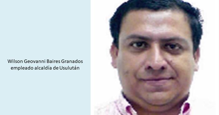 Prisión preventiva para empleado municipal de Usulután por Corrupción