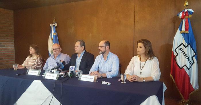 Sector empresarial de ARENA pide la renuncia de la actual dirigencia del COENA
