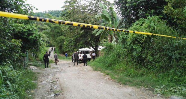 Mueren 2 pandilleros en enfrentamiento con policías en Santa Cruz Michapa