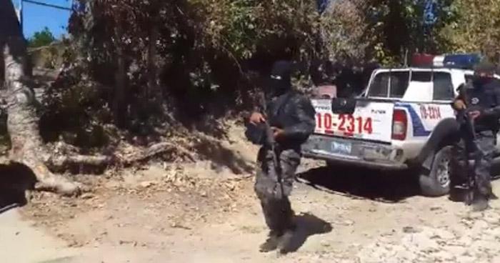 Pandillero muerto tras enfrentamiento con policías en Apastepeque, San Vicente