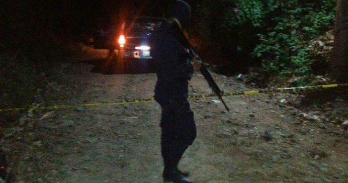 Pandillero muerto tras enfretamiento con policías en Cabañas