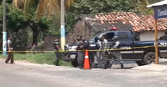 Pandillero de la MS pierde la vida en intercambio de disparos con policías en Cabañas