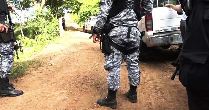 Dos pandilleros murieron al enfrentarse a policías en Morazán