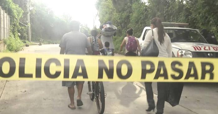 Dos pandilleros muertos en enfrentamiento con agentes de la PNC en San Rafael Cedros