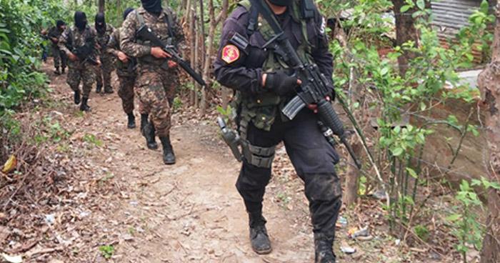 Pandillero fallecido tras intercambio de disparos con agentes de la PNC en Rosario de Mora