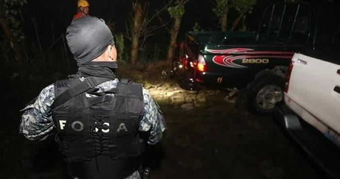 Muere asaltante durante un intercambio de disparos en Texistepeque, Santa Ana