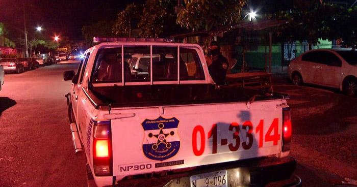 Un Policía resulto lesionado tras enfrentamiento con pandilleros en Soyapango