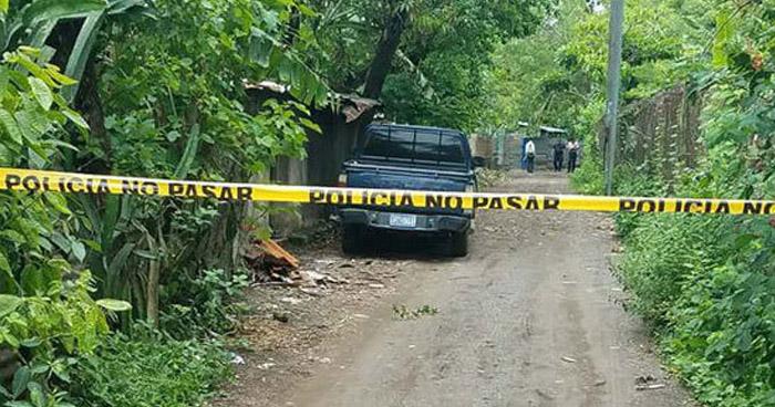 Pandillero muerto y otro capturado tras enfrentamiento en Santa María, Usulután