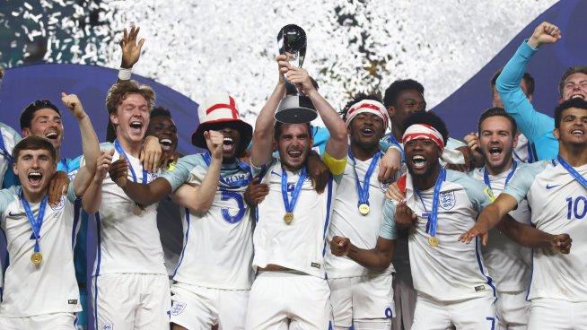 Inglaterra Campeón del Mundial Sub-20