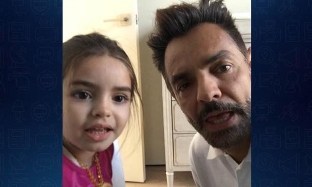 Eugenio Derbez y su hija derriten la redes sociales con este tierno video