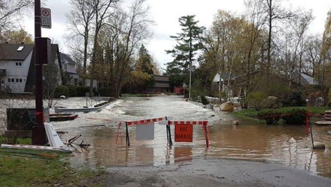 Evacuaciones y movilización de tropas en Canadá ante fuertes inundaciones