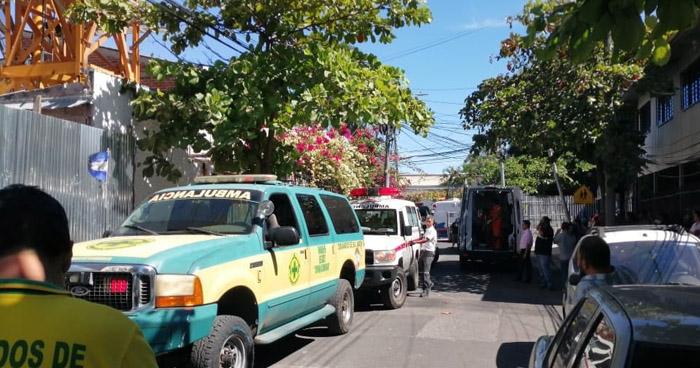 Explosión por Call Center de Avenida Olímpica deja tres fallecidos y dos lesionados