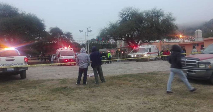 Cinco muertos deja explosión de pirotecnia en Querétaro, México