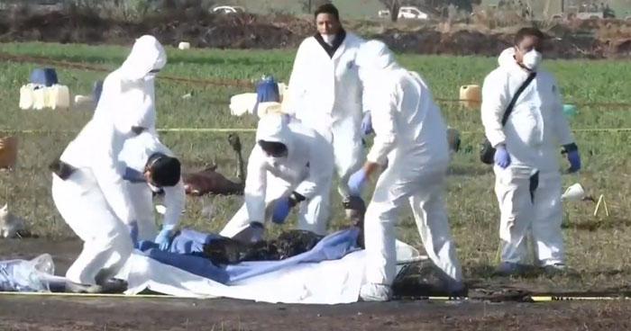 Explosión de una toma clandestina de combustible dejó 66 muertos en México