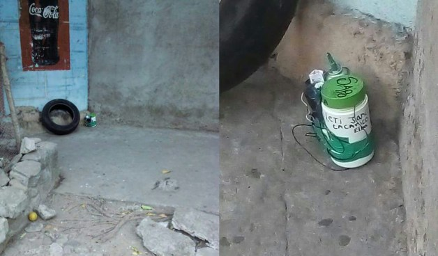 """Localizan nuevo """"Falso"""" artefacto explosivo en colonia Escalon"""