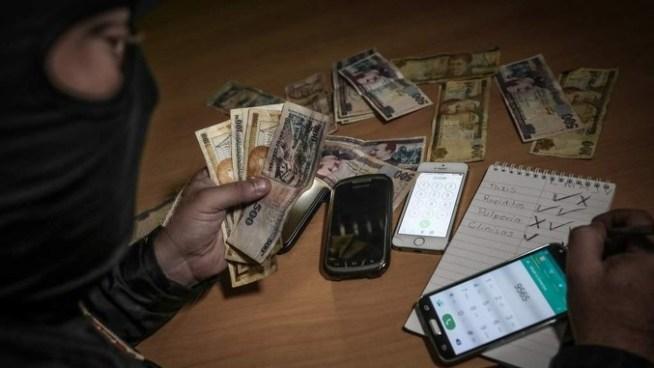 Delincuentes dejaban notas exigiendo el pago de una extorsión en San Miguel