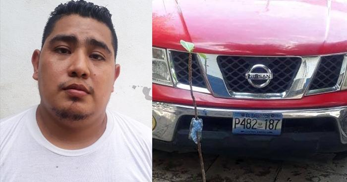 Pandillero capturado después de cobrar $100 de extorsión en Sonsonate