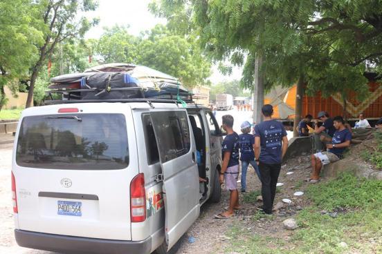 Federación de Surf esperaron 5 horas en la frontera para poder ingresar a Nicaragua