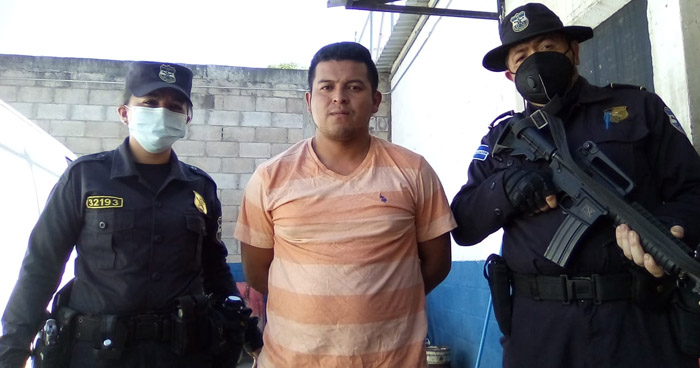 Prisión preventiva para sujeto que golpeo a su expareja en Alegría, Usulután