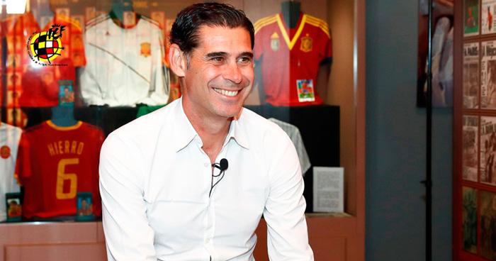 Fernando Hierro será el técnico de España tras la destitución de Lopetegui