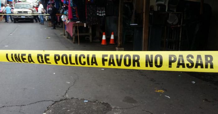 Encuentran feto en zona comercial del centro de la cuidad de San Vicente