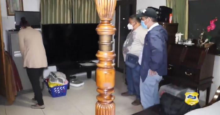 Fiscalía allanó propiedades ligadas al Exministro de Defensa, David Munguía Payés