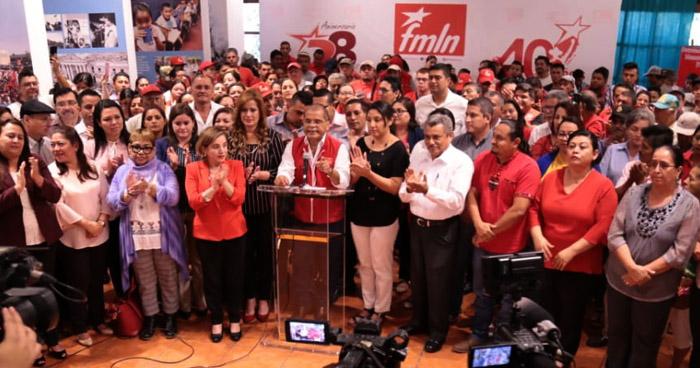 FMLN pide renuncia de funcionarios de seguridad del actual Gobierno
