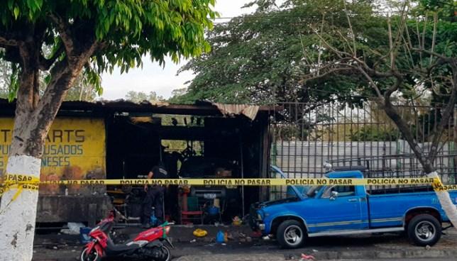Un mecánico fue asesinado en un taller esta tarde en Mejicanos