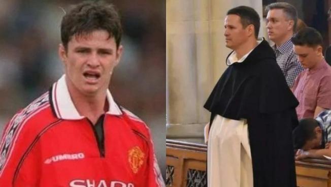 De ser futbolista pasó a ser sacerdote